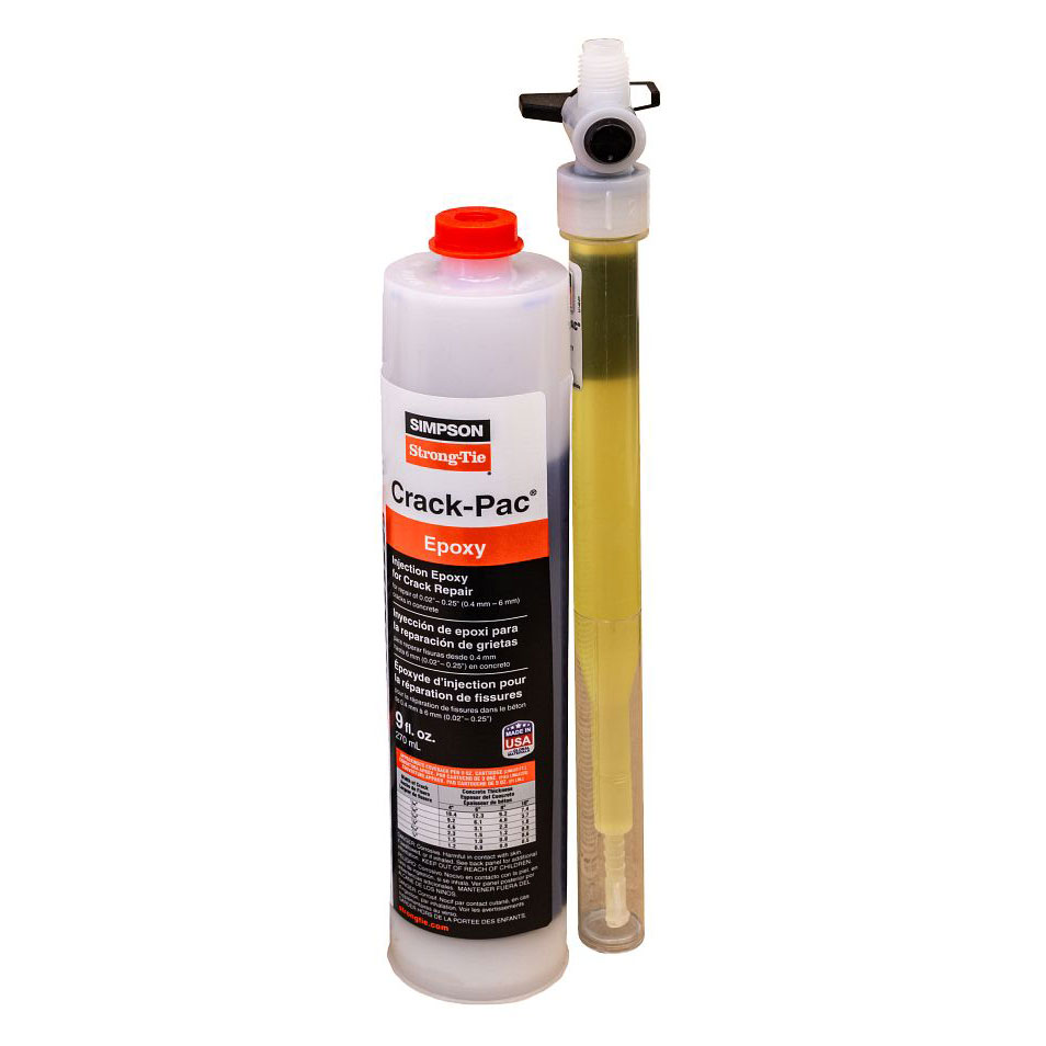 ETIPAC10 Simpson Strong-Tie - Crack-Pac 9oz Injection Epoxy System ETIPAC10