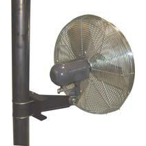 Standard Industrial 1/4hp Oscillating Unassembled Fans