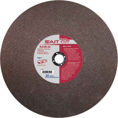 Steel Cutting Abrasive Blades for Hand Held Cut-off Saw
