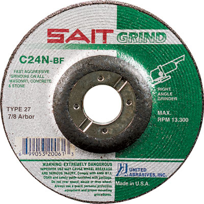 Grinding Wheels for Concrete