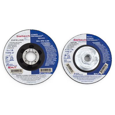 Saitech 1/8in Cutting and Grinding Wheels for Stainless Steel Pipeline Work