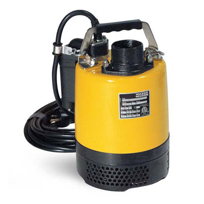 Wacker PS2 500 2in Submersible Water Pump with Automatic Switch 2/3hp 110v PSA2-500