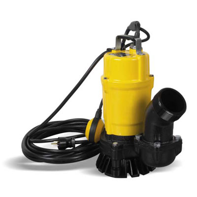 Wacker PSTF3 750 3in Submersible Trash Water Pump with Float Switch 1hp 110v PSTF3-750