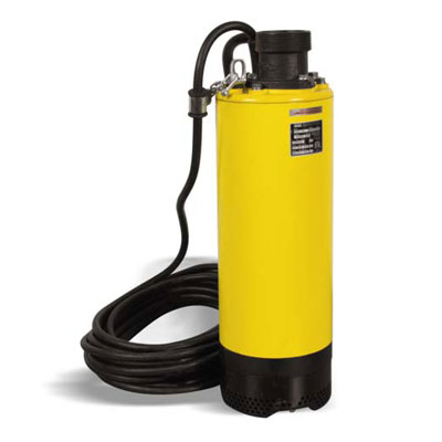 Wacker PSW3 1500 3in Slim Submersible Water Pump 2hp 110v for Well Points PSW3-1500