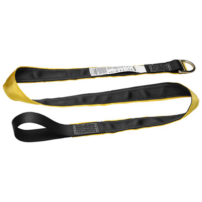 Werner - A111106 6 ft Cross Arm Strap (Web, Loop, D-Ring) WER-A111106