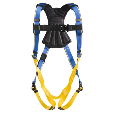 Werner Blue Armor 2000 H113004 Fall Protection Harness with 1 D-Ring - X-Large H113004