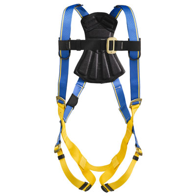 Werner Blue Armor 1000 H211005 Fall Protection Harness with 1 D-Ring - XX-Large WER-H211005