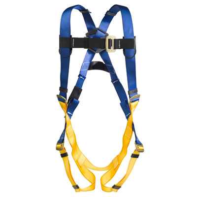 Werner LiteFit H311002 Fall Protection Harness with 1 D-Ring - Medium/Large WER-H311002