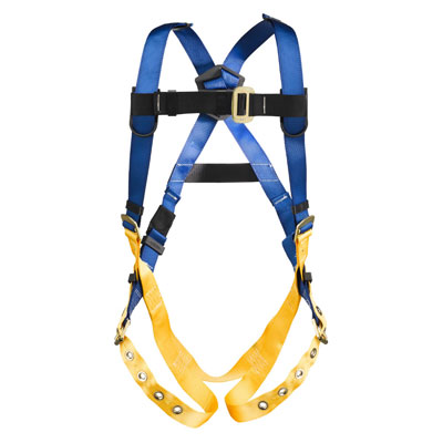Werner LiteFit H312002 Fall Protection Harness with 1 D-Ring - Medium/Large WER-H312002