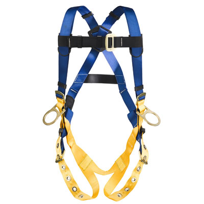 Werner LiteFit H332002 Positioning Fall Protection Harness with 3 D-Rings - Medium/Large WER-H332002