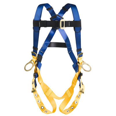 Werner LiteFit H332005 Positioning Fall Protection Harness with 3 D-Rings - XX-Large WER-H332005