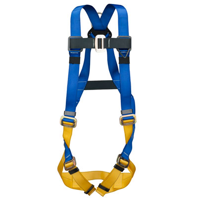 Werner BaseWear H411002 Fall Protection Safety Harness with 1 D-Ring - Universal WER-H411002