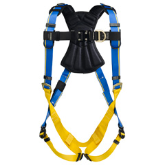 Werner Blue Armor 2000 H123001 Climbing Fall Protection Harness with 2 D-Rings - Small H123001