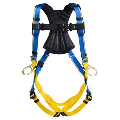 Werner Blue Armor 2000 H133001 Positioning Fall Protection Harness with 3 D-Rings - Small H133001