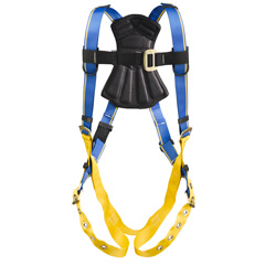 Werner Blue Armor 1000 H212005 Fall Protection Harness with 1 D-Ring - XX-Large WER-H212005