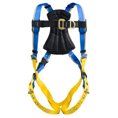Werner - Blue Armor 1000 H222001 Climbing (2 D Rings) Harness - Small H222001