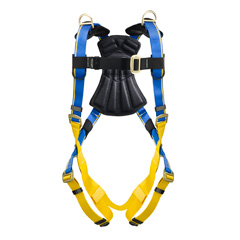 Werner Blue Armor 1000 H241001 Retrieval Fall Protection Harness with 3 D-Rings - Small H241001