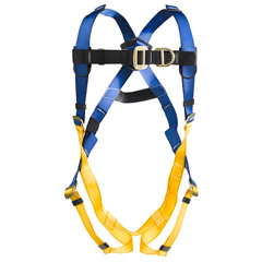 Werner LiteFit H321001 Climbing Fall Protection Harness with 2 D-Rings - Small H321001