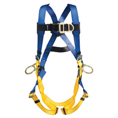 Werner LiteFit H361001 Climbing/Positioning Fall Protection Harness with 4 D-Rings - Small H361001