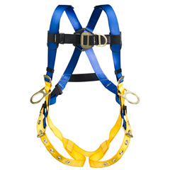 Werner LiteFit H362001 Climbing/Positioning Fall Protection Harness with 4 D-Rings - Small H362001