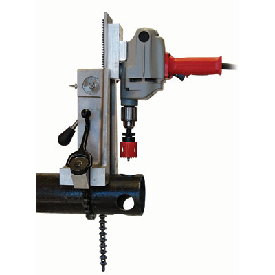 Wheeler Rex 3092 3090 Hole Cutter W/Milwaukee Drill 3092