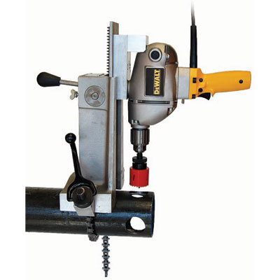 Wheeler Rex 3093 3091 Hole Cutter W/Dewalt Drill 3093