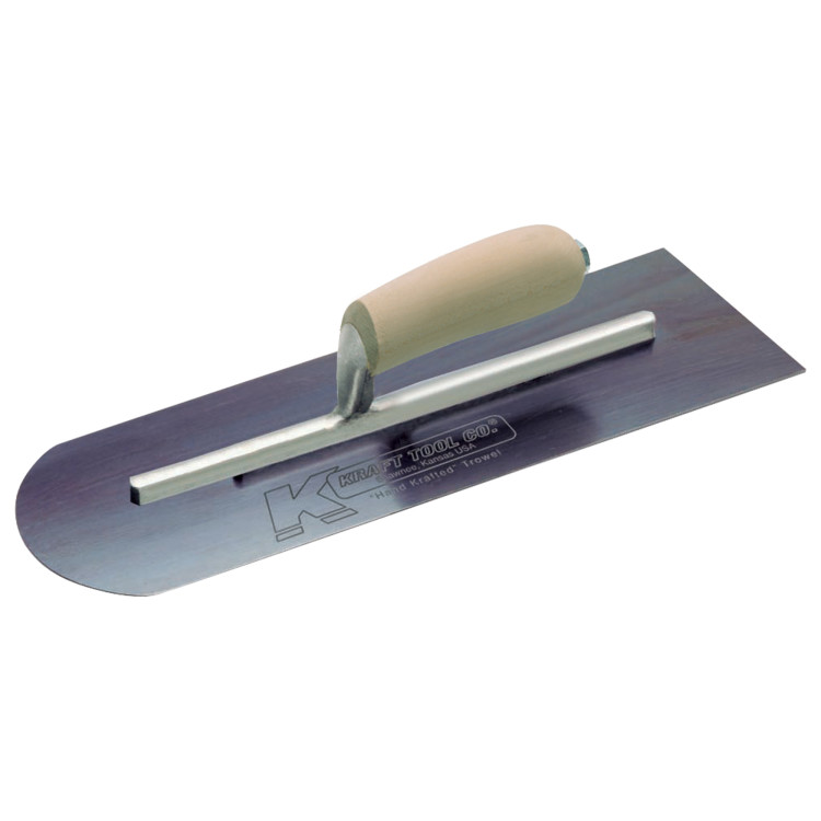 Blue Steel Round Front/Square Back Trowel
