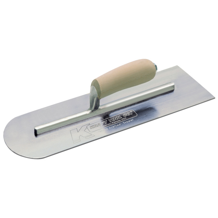 Carbon Steel Round Front/Square Back Trowels
