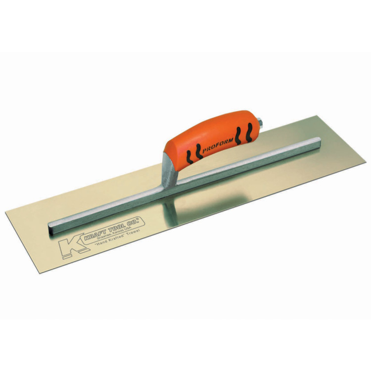 Golden Stainless Steel Concrete Finish Trowels