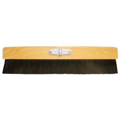 Kraft CC170 24in Wood Concrete Finishing Broom with Bracket KRA-CC170