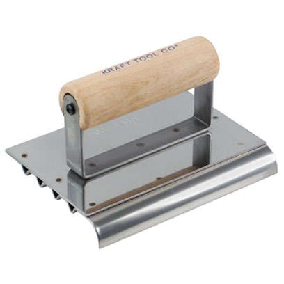 Kraft Cf112 Safety Step Hand Concrete Edger 6in X 4in 1 2