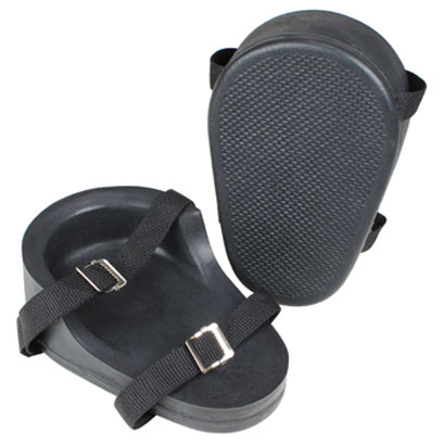 Kraft - WL080 - Poly Replacement Kneepads Two Strap (Pair) WL080