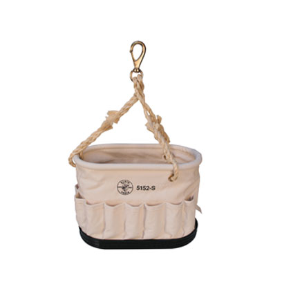 Klein - Bucket, #6 Canvas, Oval, 41 Pockets 5152S