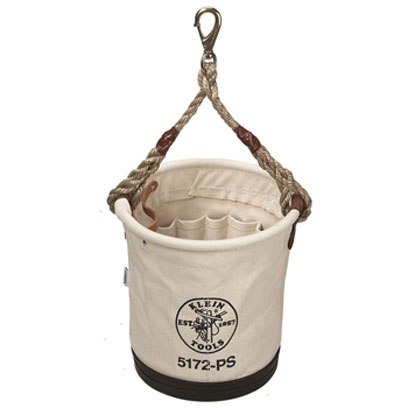 Klein - Bucket, #4 Canvas, 15 Inside Pockets 5172PS