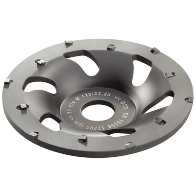 Metabo 628208000 5in Professional PCD Cup Wheel 628208000