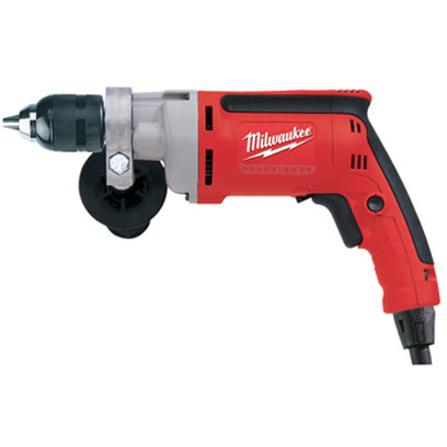 0302-20 Milwaukee Electric Tools 1/2 in. Drill, 0-850 RPM with All Metal Chuck and Quik-Lok Cord 0302-20