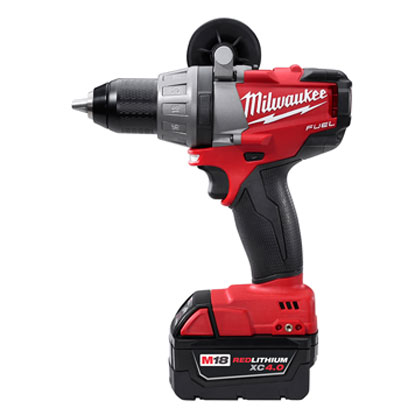 Milwaukee Electric Tool - 2603-22 M18 FUEL1/2in Drill/Driver Kit w/ XC Batteries 2603-22