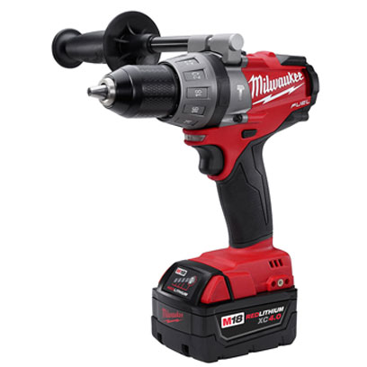 Milwaukee - 2604-22 M18 FUEL1/2in Hammer Drill/Driver Kit w/ XC Batteries 2604-22