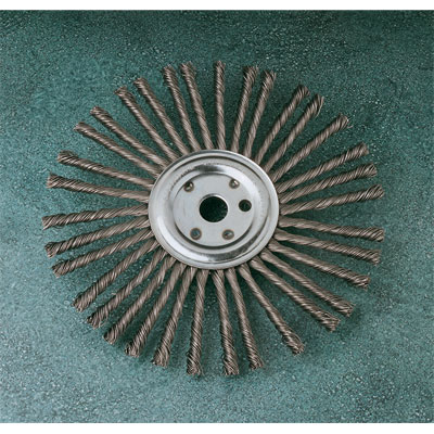 Wire Wheels and Wire Brushes.