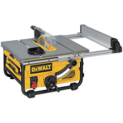 system site table with saw pro guarding compact modular job dewalt