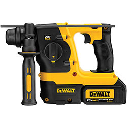 dewalt dch213l2 20v max li ion 3 mode sds rotary hammer. Black Bedroom Furniture Sets. Home Design Ideas
