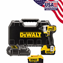 20V MAX Lithium Ion 1/4in Impact Driver Kit (4.0Ah) DCF885M2