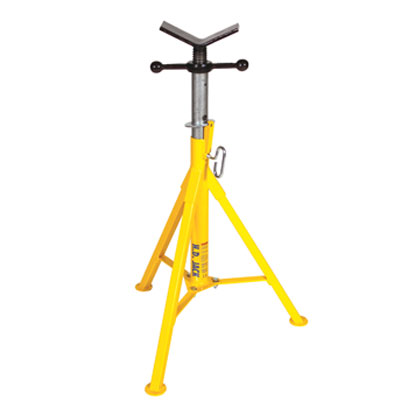Pipe Jack Stands >> Sumner St 805 Hi Heavy Duty Pipe Jack Stand With Stainless Steel Vee