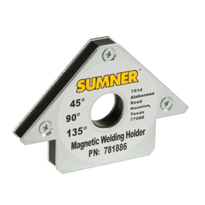 Sumner - 781886 - Small Angle Welding Magnetic Fixture 781886